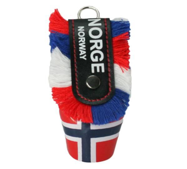 Bilde av Bjelle med Norgesflagg