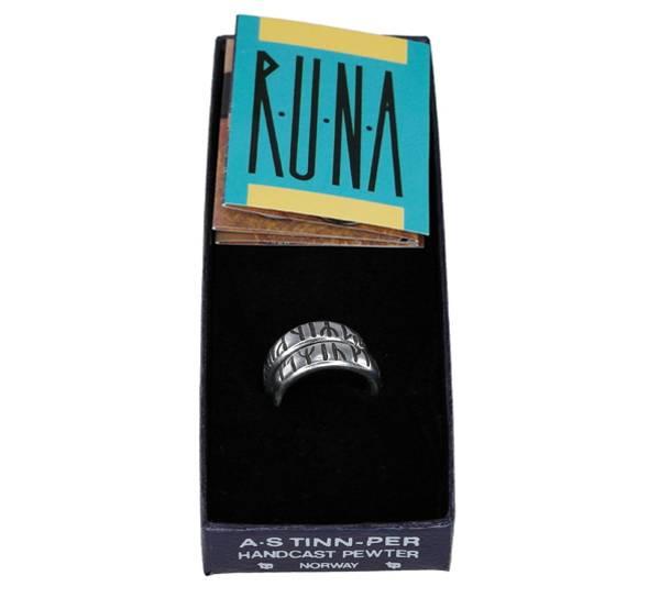 Bilde av Ring med runer