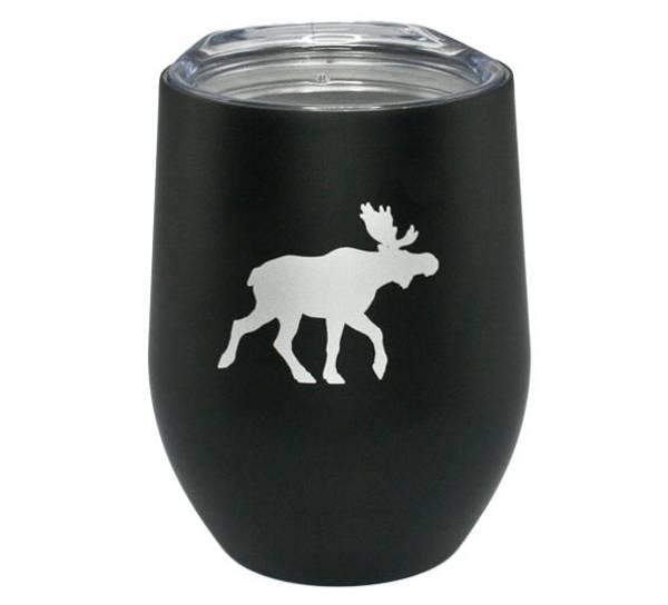 Bilde av Termokopp sort med sølvelg