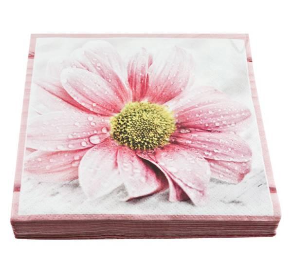 Bilde av Servietter sukkersøt blomst