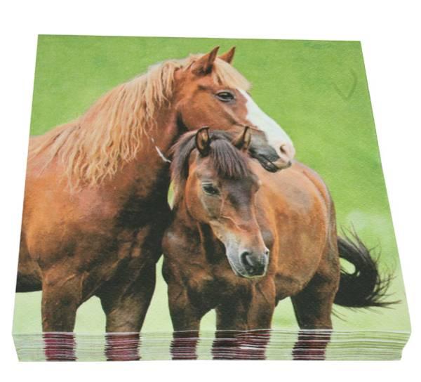 Bilde av Servietter to hester