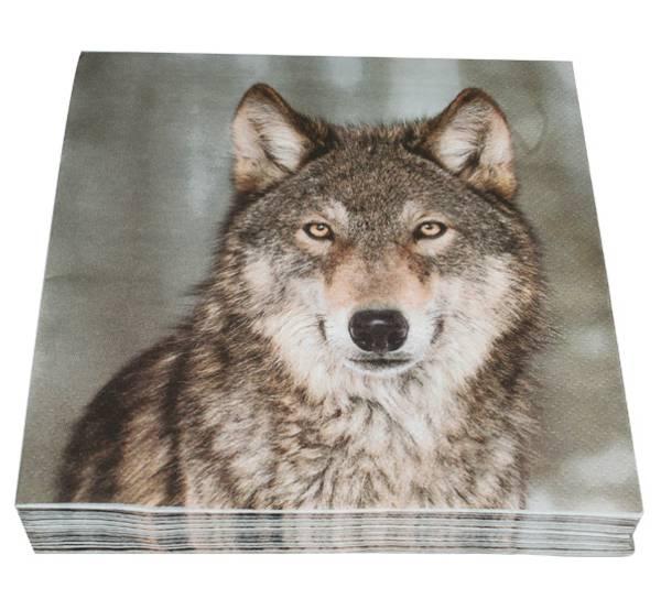 Bilde av Servietter ulv