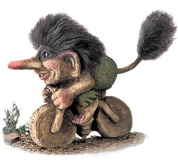 Bilde av Troll på sykkel  (Troll nr. 251)