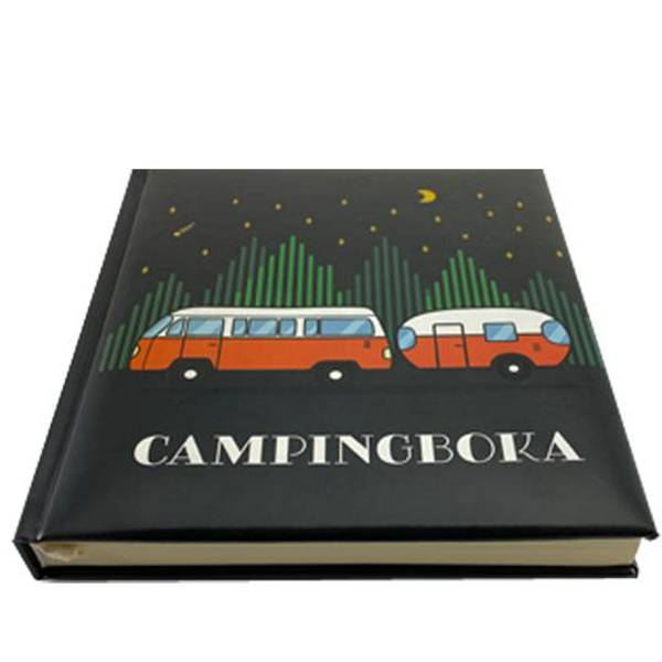 Bilde av Campingboka, sort