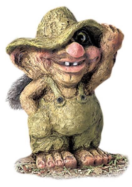 Bilde av Trollgutt med hatt  (Troll nr. 264)