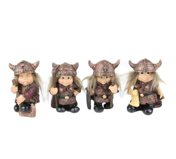 Bilde av Vikingbarn, *Sett à 4*