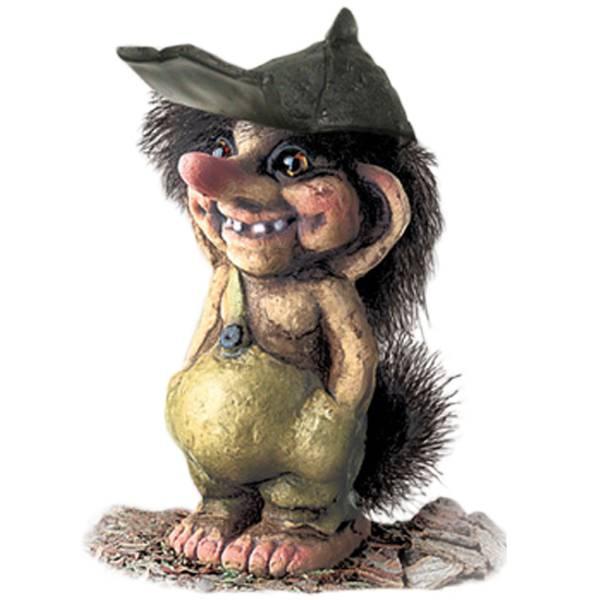 Bilde av Troll, gutt, liten, med caps (Troll nr. 019)
