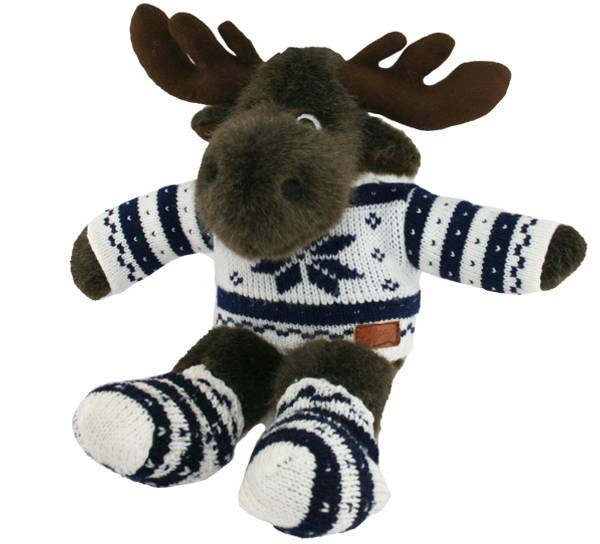 Bilde av Elg med  genser og sokker liten Edwin