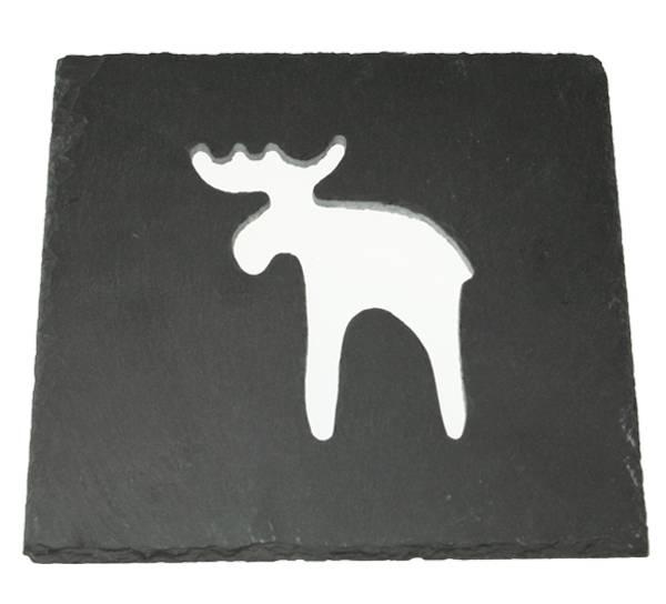 Bilde av Skifer kjeleundelag med elg