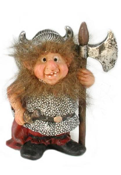 Bilde av Figur viking med øks og sabel