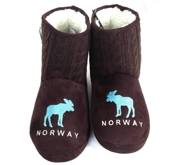 Bilde av Tøffel Norway brun-turkis