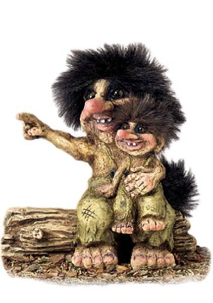 Bilde av Troll far og sønn. (Troll nr. 269)