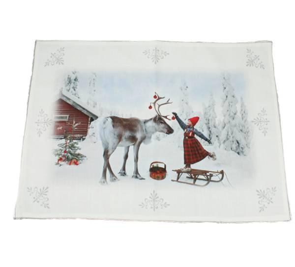 Bilde av Brikke, Anja Pynter reinsdyret - Juledrømmen