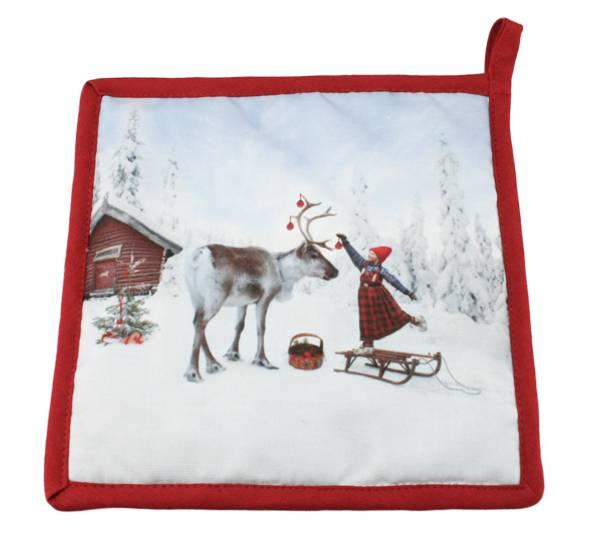 Bilde av Gryteklut, Anja Pynter reinsdyret - Juledrømmen