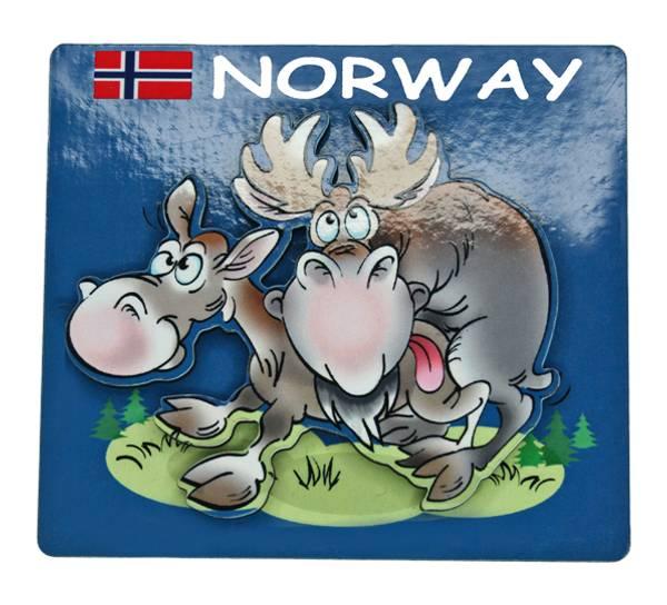 Bilde av Magnet, elg in action