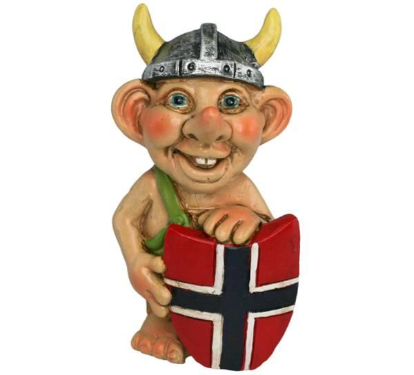 Bilde av Viking med flaggskjold
