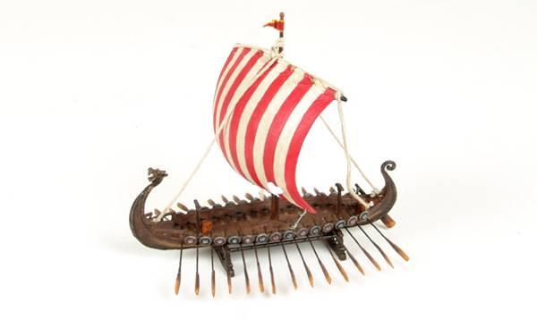 Bilde av Vikingskip, lite