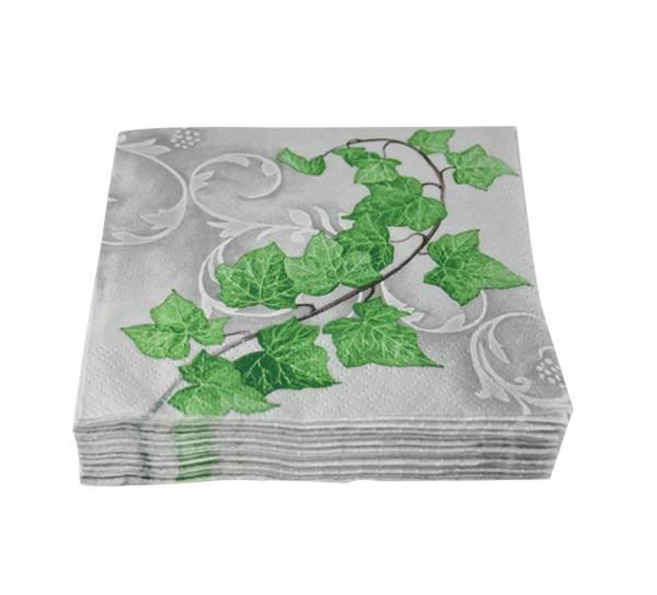 Bilde av Kaffeserviett, grønne blader