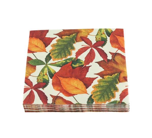 Bilde av Kaffeserviett, høstblad
