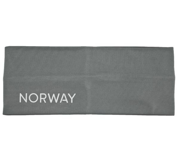 Bilde av Pannebånd med refleks Norway grå