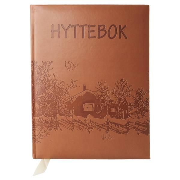 Bilde av Hyttebok  preget hyttedesign