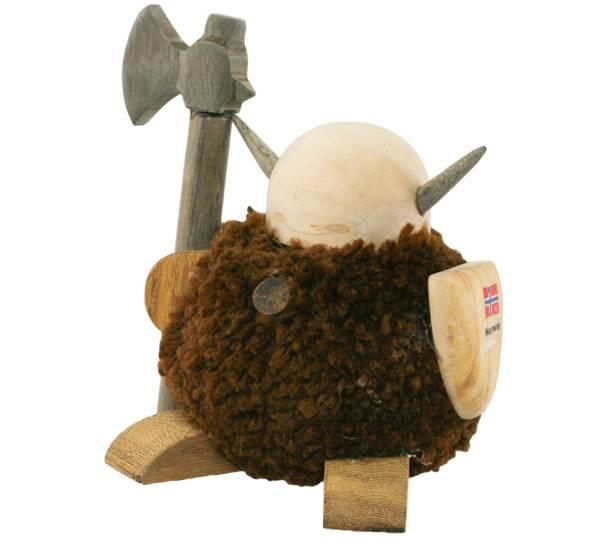 Bilde av Pompom viking, brun