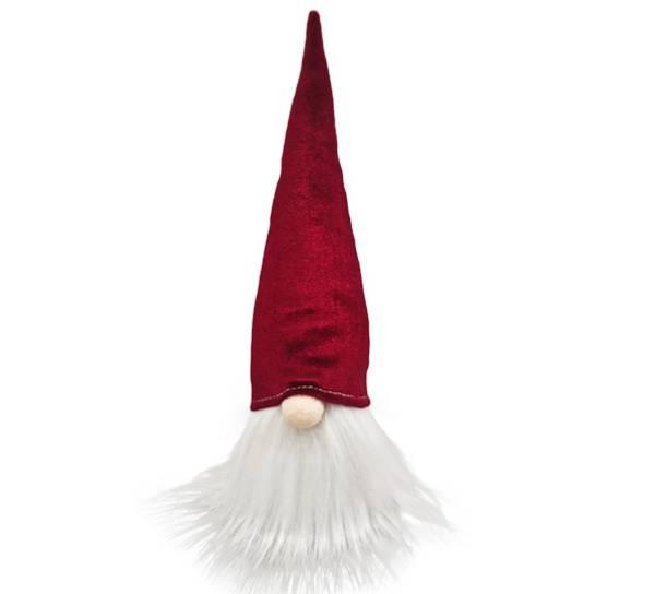 Bilde av Nisse med rød fløyelslue for oppheng