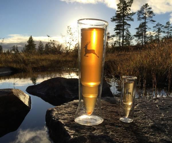 Bilde av Silver Deer Øl Glass