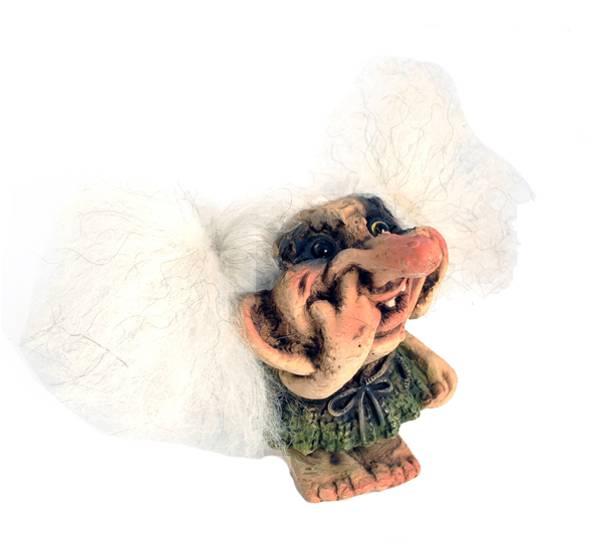 Bilde av Trolljente med finger i nesen (Troll nr. 144)