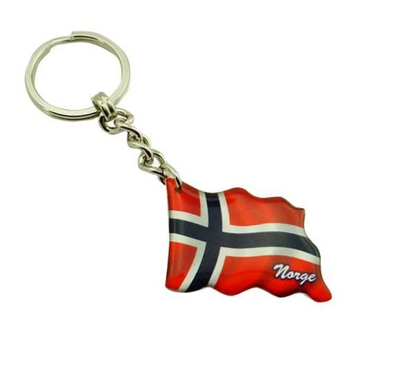 Bilde av Nøkkelring, flagg, Norge