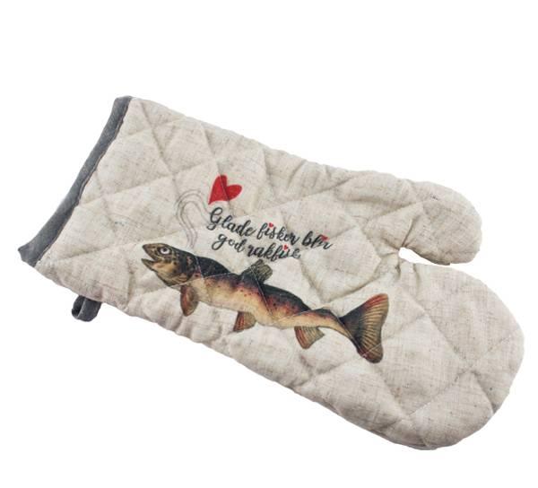 Bilde av Grillvott, glade fisker blir god rakfisk