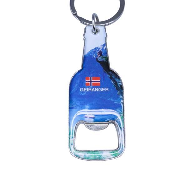 Bilde av Nøkkelring, flaskeåpner, Geiranger