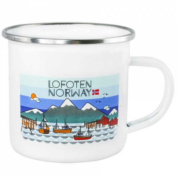Bilde av Emaljekrus, Lofoten