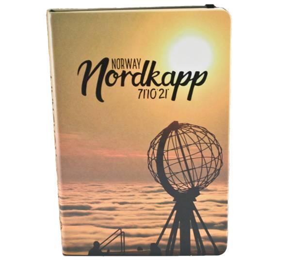 Bilde av Notatbok A5, Nordkapp