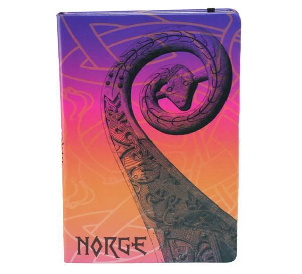 Bilde av Notatbok A5, Oseberg i farger