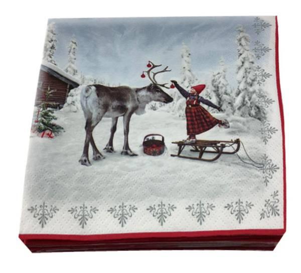 Bilde av Servietter, Juledrømmen