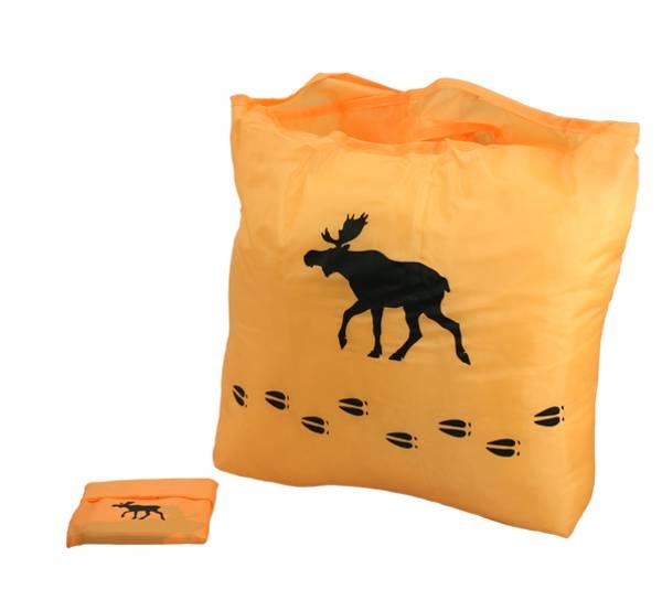 Bilde av Handlenett med elg, orange