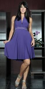 Bilde av Salsa kjole m/halter neck