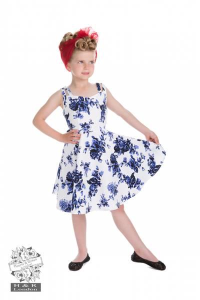 Blue Rosaceae Swing Little Lady