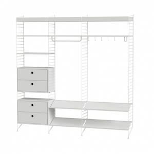 Bilde av String Furniture - Oppsett for gang - 200x200cm -