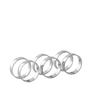 Bilde av Broste Copenhagen - Serviet Ring - Jern Nickel