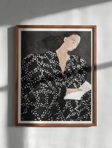 Bilde av Fine Little Day - Reading Poster 40x50cm