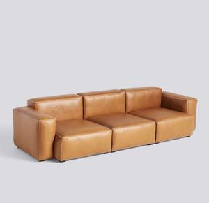 Bilde av Hay - Mags soft 3 seter low - Silk Leather