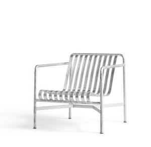 Bilde av Hay - Palissade Lounge chair High - Galvanisert