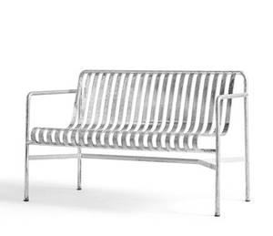 Bilde av Hay - Palissade Dining bench - Galvanisert