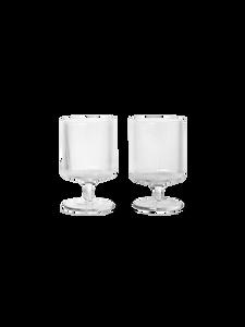 Bilde av Ferm Living - Ripple Wine Glasses (Set of 2) -