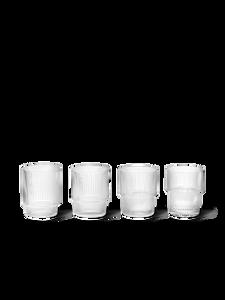 Bilde av Ferm Living - Ripple Glasses (Set of 4) - Clear