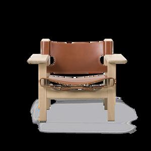 Bilde av Fredericia - The Spanish Chair // Cognac skin //