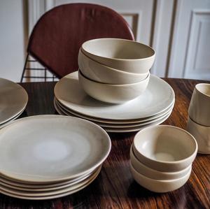 Bilde av Pagina - Melk Ceramic Tallerken - Large