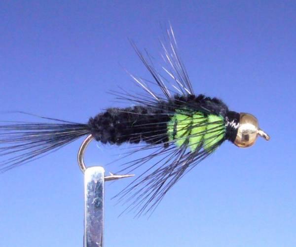 Montana BH (grønn/sort)
